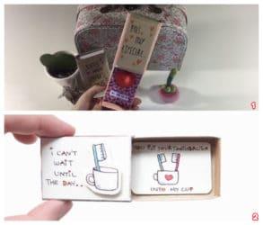Manualidades con cajas de cerillas